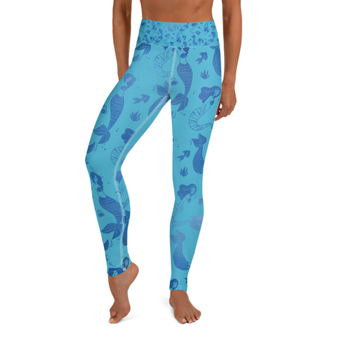 Mermaid - Yoga Leggings
