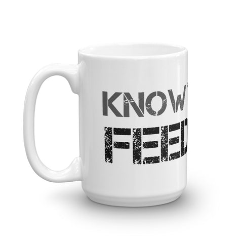 Image of Know Thy Dog Feed Raw Mug
