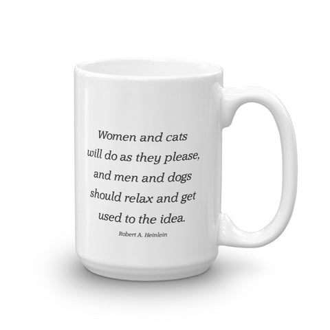 Image of Women and cats - Mug
