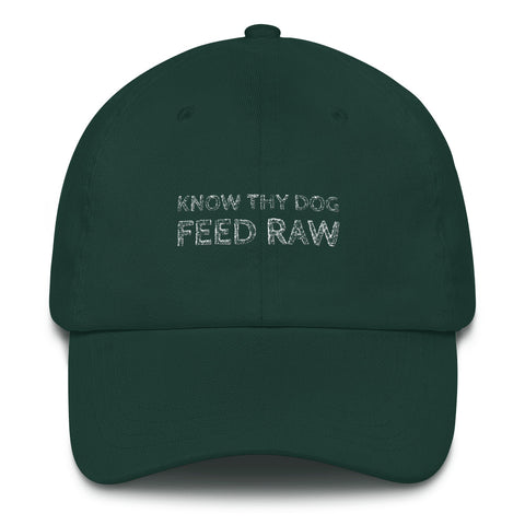 Image of Know thy dog feed raw cap