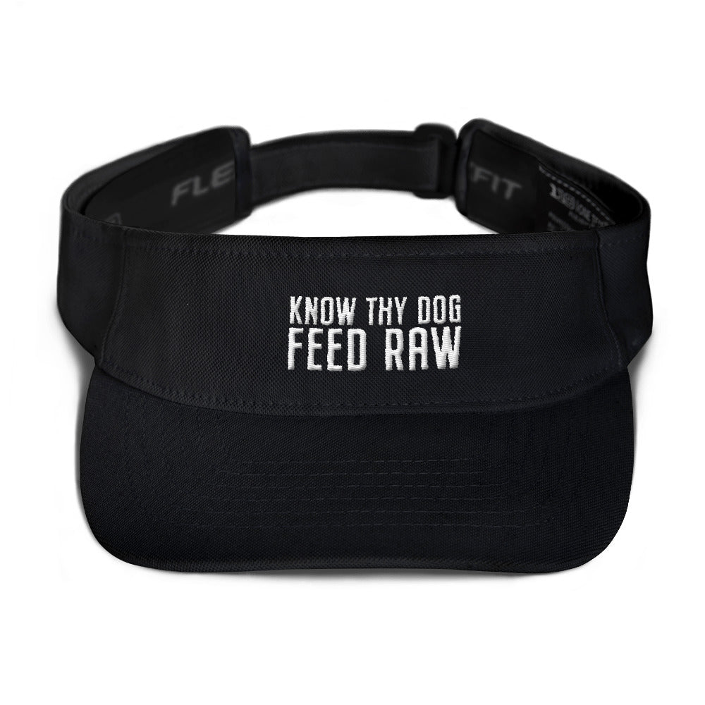 Visor for raw feeders.