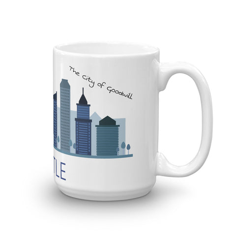 Image of I love Seattle Mug - The City of Goodwill