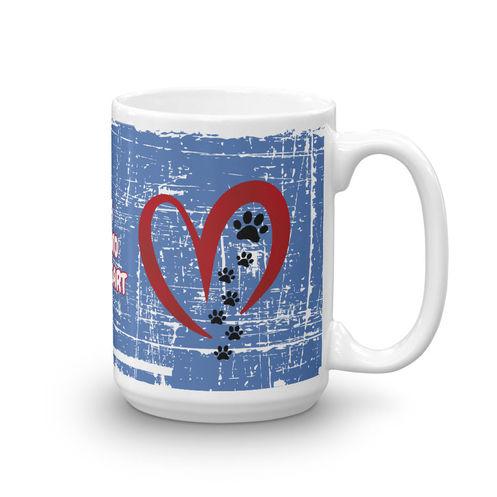 Let A Pet Into Your Heart Mug