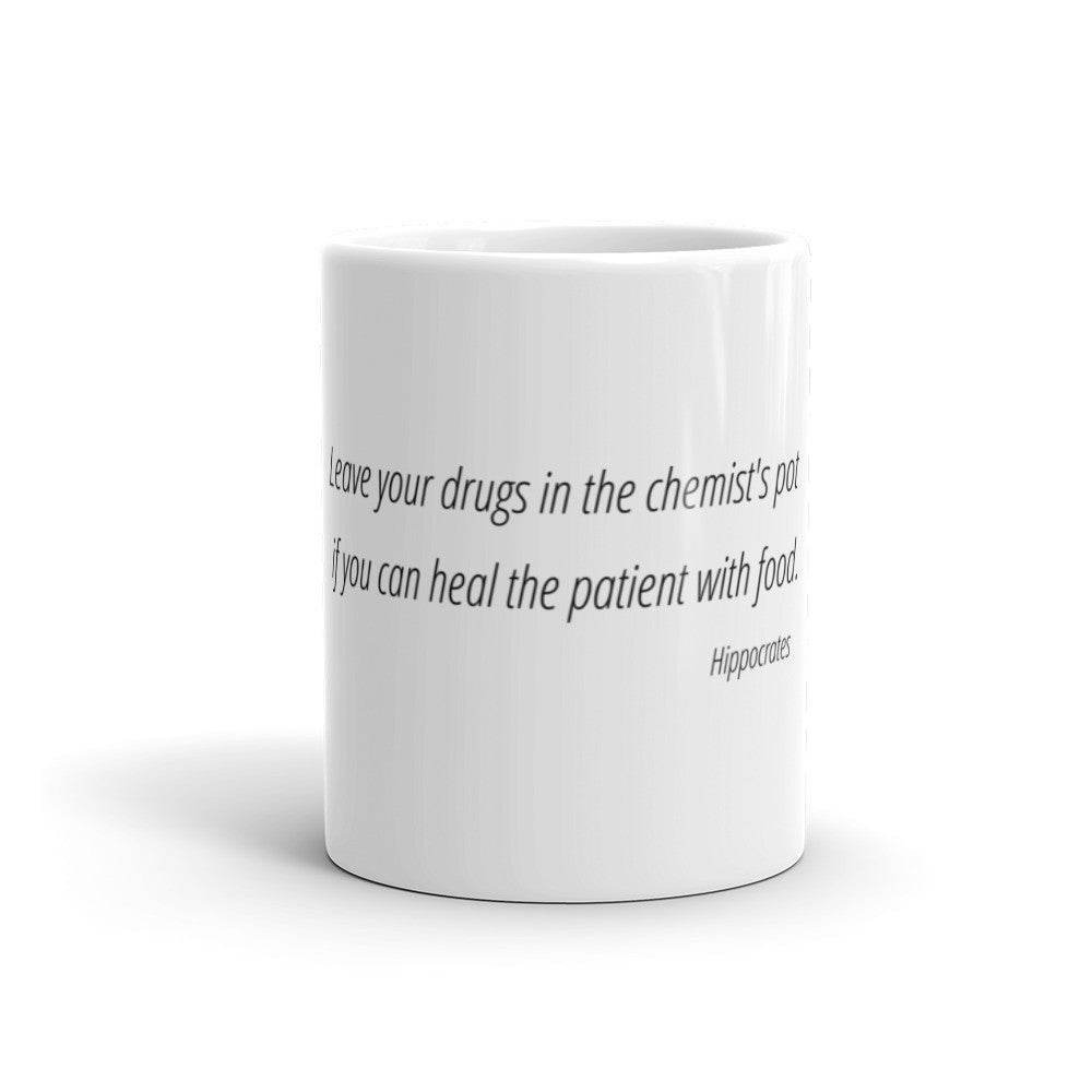 Leave your drugs in the chemist's pot - Mug