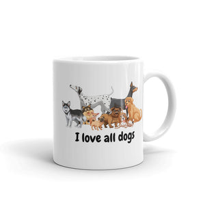 I love all Dogs Mug