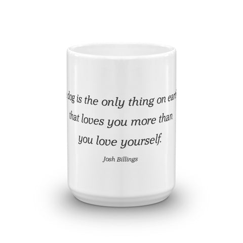 Image of Love from dog - Mug