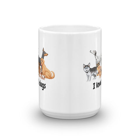 Image of I love all Dogs Mug