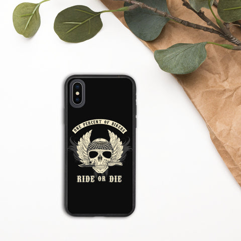 Image of Ride or Die Biker Phone Case - Biodegradable phone case