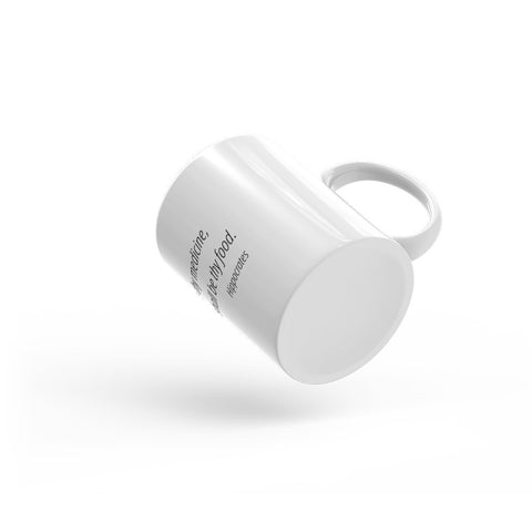Image of Let food be thy medicine - Mug