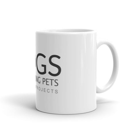 Image of Long Living Pets Research Love Dogs Mug