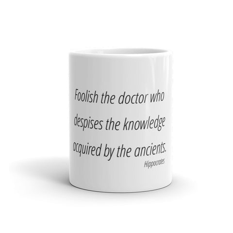 Image of Foolish the doctor who - Mug