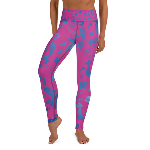 Image of Mermaid Yoga Leggings