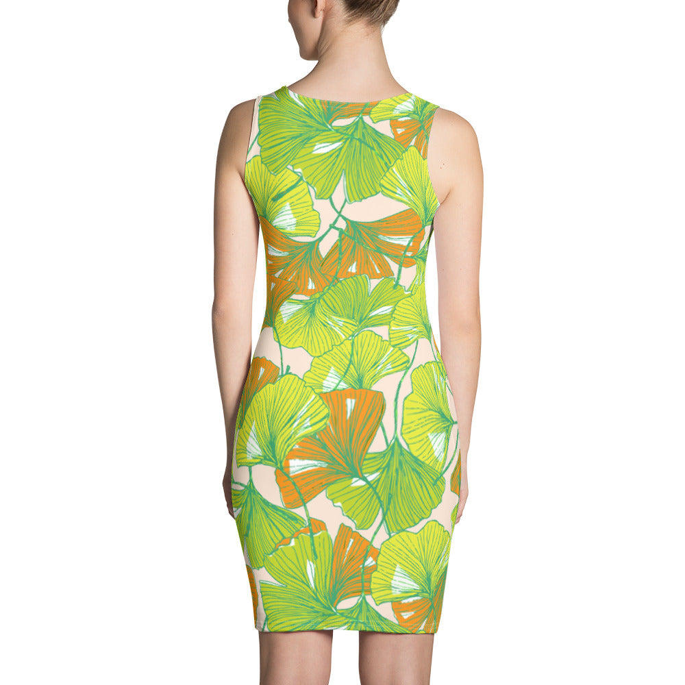 Colorful Floral Cut & Sew Dress