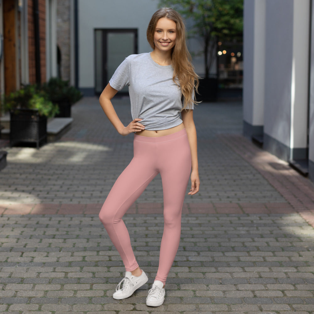 Pastel Leggings Salmon