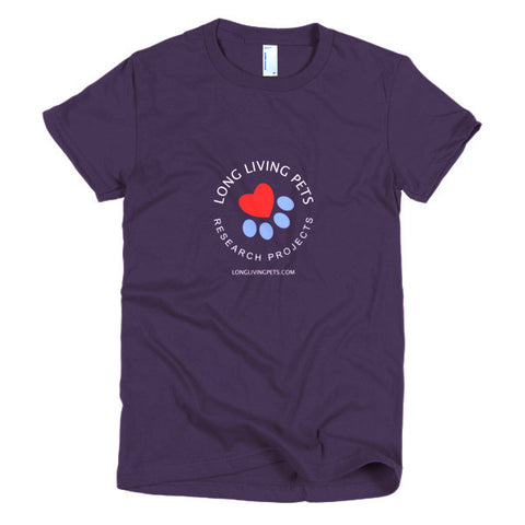 Image of Long Living Pets Research - Short sleeve women's t-shirt