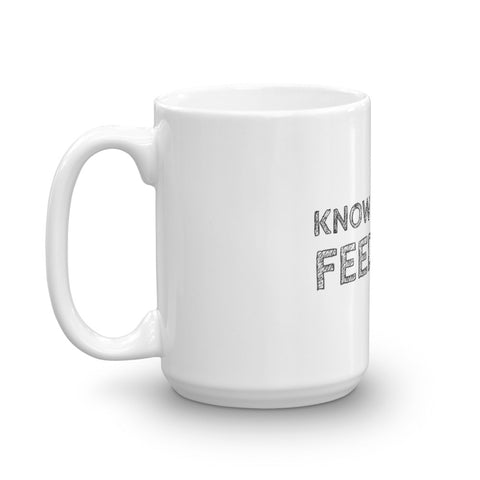 Image of Know Thy Dog - Feed Raw - Mug made in the USA