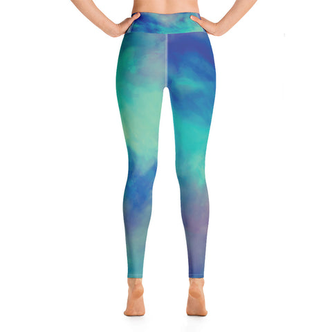 Image of Watercolor Yoga Leggings