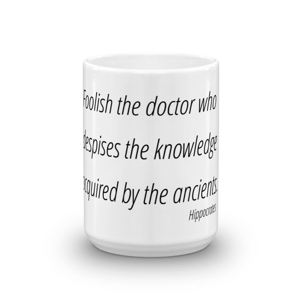 Foolish the doctor who - Mug