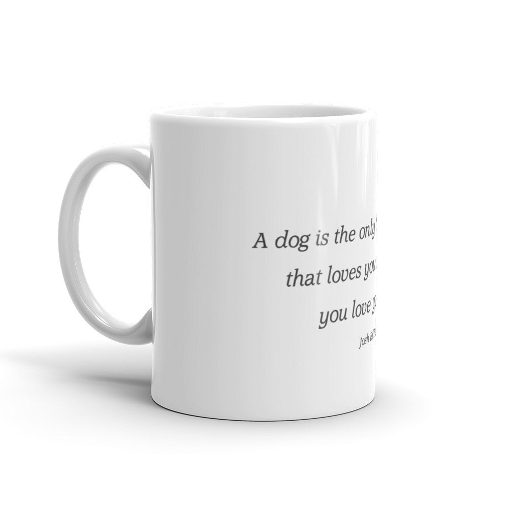Love from dog - Mug