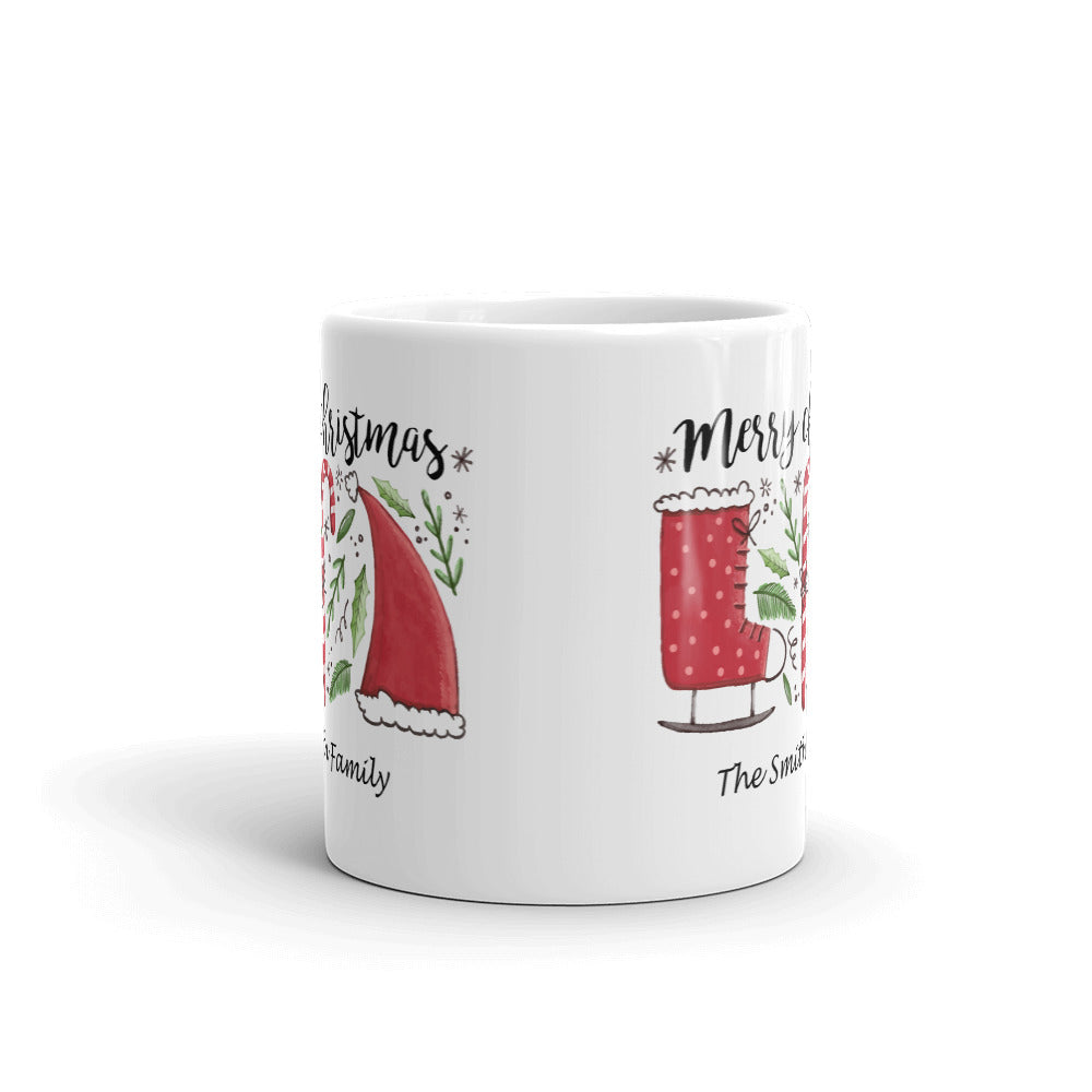 Merry Christmas Mug You Can Customize