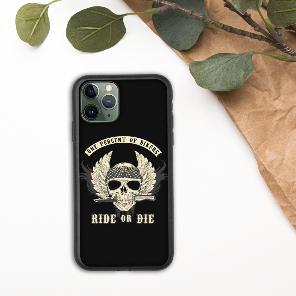 Ride or Die Biker Phone Case - Biodegradable phone case