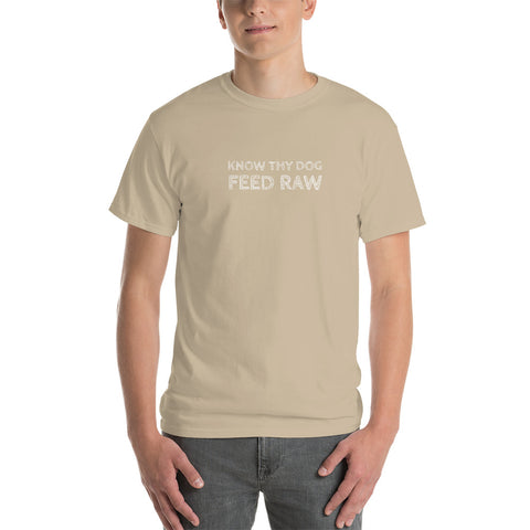 Image of Know Thy Dog Feed Raw - Short-Sleeve T-Shirt