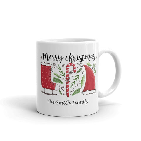 Image of Merry Christmas Mug You Can Customize