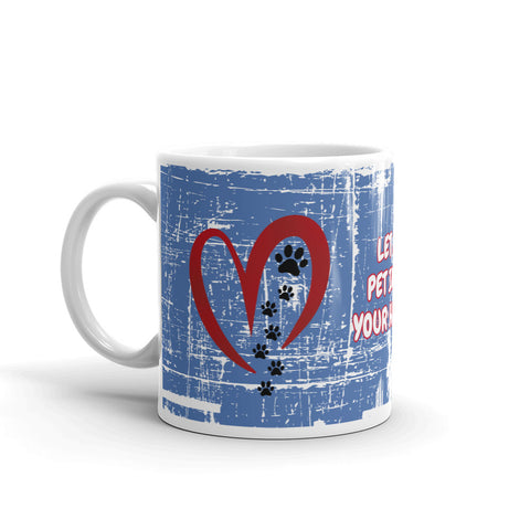 Image of Let A Pet Into Your Heart Mug