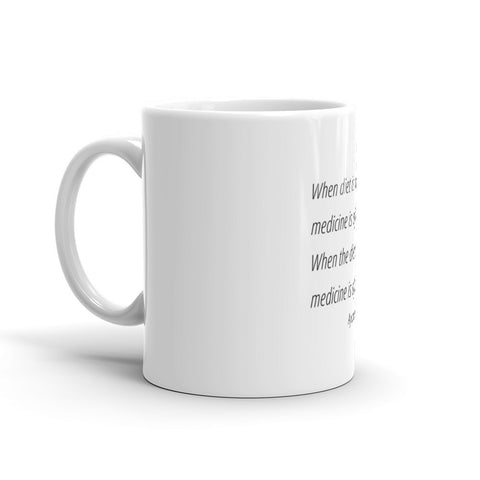 Image of When diet is wrong - Mug