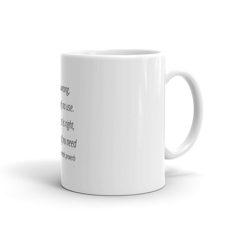 When diet is wrong - Mug