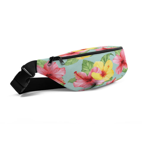 Image of Summer Fanny Pack- Tropical Flowers