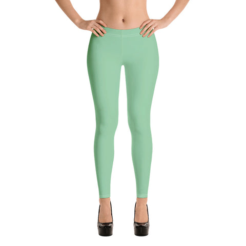 Image of Pastel Leggings Spring Green