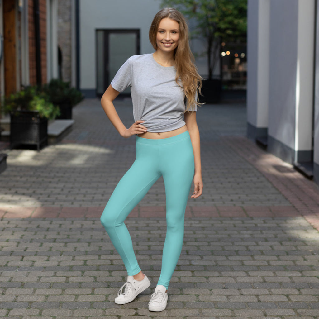 Pastel Leggings Teal