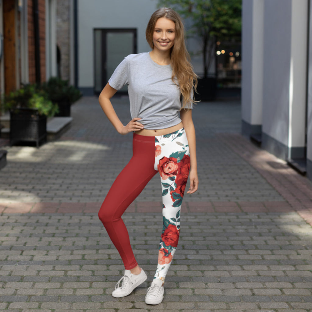 Vintage Rose Leggings