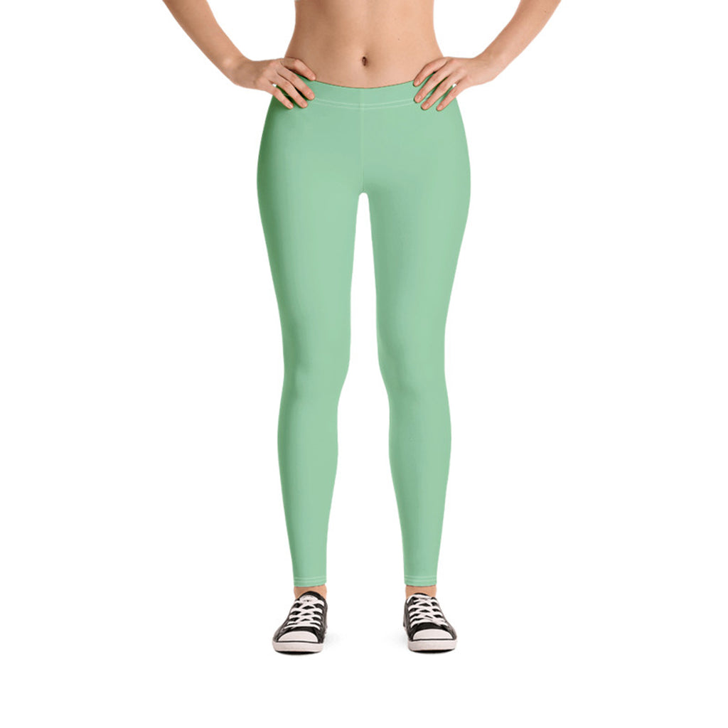 Pastel Leggings Spring Green