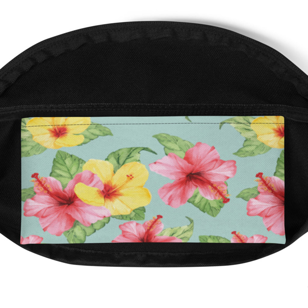 Summer Fanny Pack- Tropical Flowers