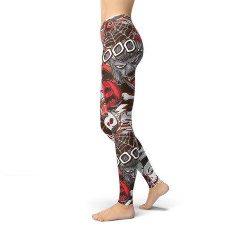 Image of Jean Monster Party - Halloween Leggings