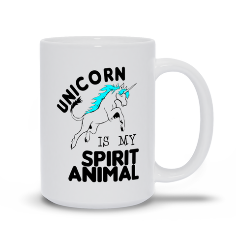 Unicorn is My Spirit Animal Mugs