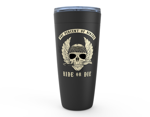 Ride or Die Viking Tumblers for Bikers