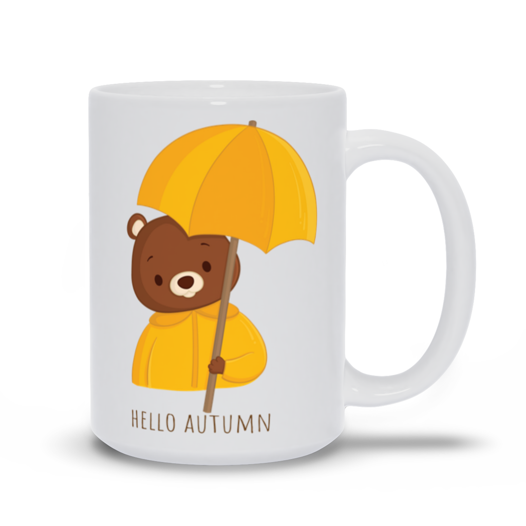 Autumn Bear Mug