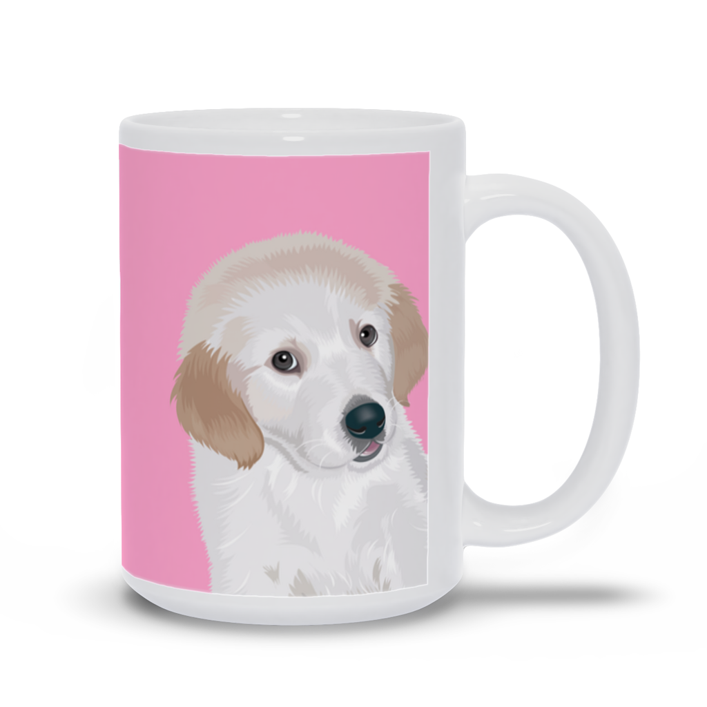 "Mug with Dog Quotes- ""The better I get to know men, the more I find myself loving dogs."""