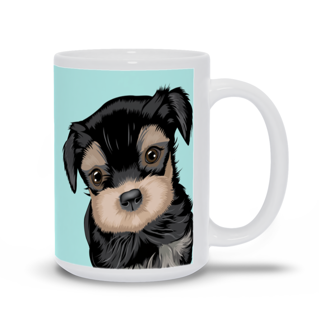 "Mug with Dog Quotes- ""If puppies could talk, I would never try to make human friends again"""