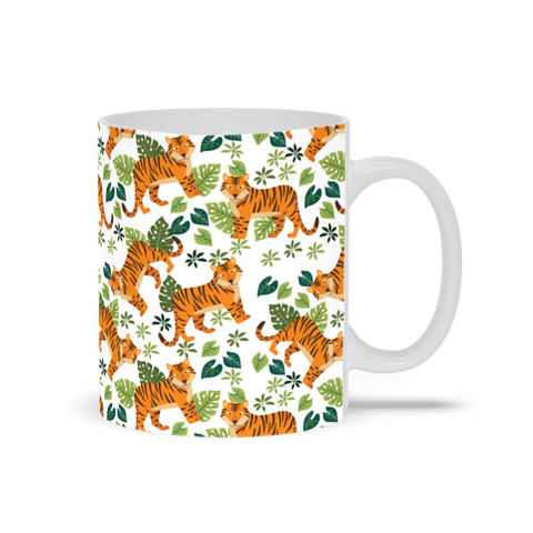 Image of Mug with Tiger Design