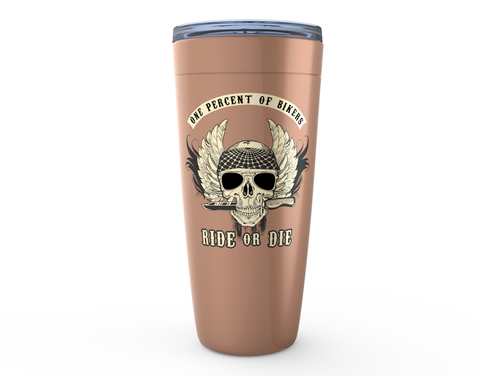 Image of Ride or Die Viking Tumblers for Bikers