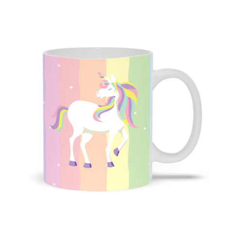 Image of Rainbow Unicorn Mug
