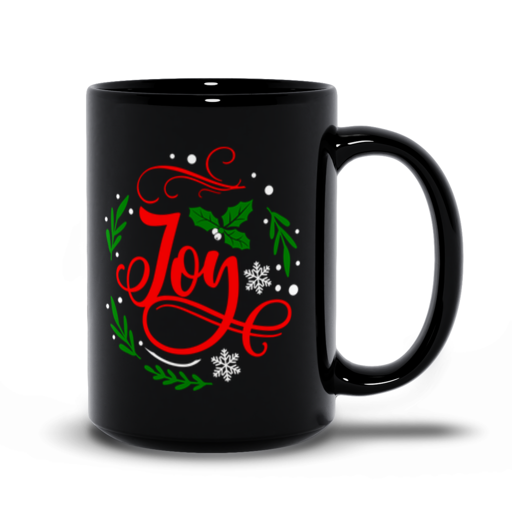 Joy Christmas Mugs