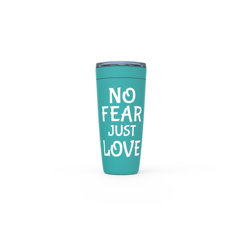 Image of NO Fear Just Love Viking Tumblers