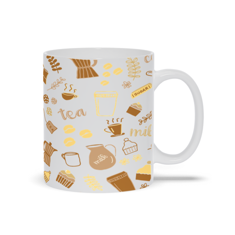 Image of Mug for Coffee and Tea Lover