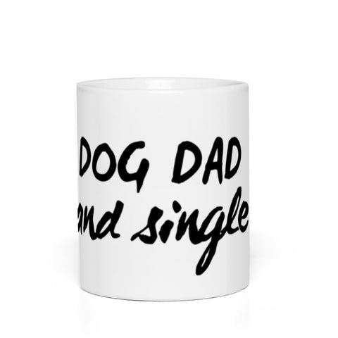 Dog Dad and Single Mug