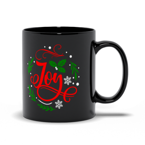 Image of Joy Christmas Mugs